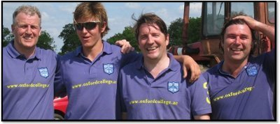Oxford College Sponsors Asthall Polo Team