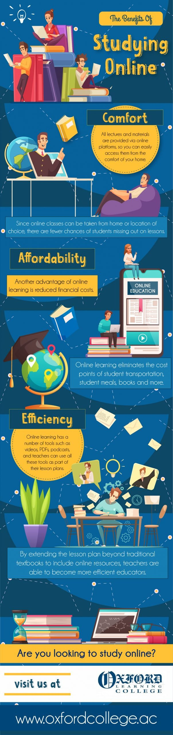 The Benefits of Studying Online